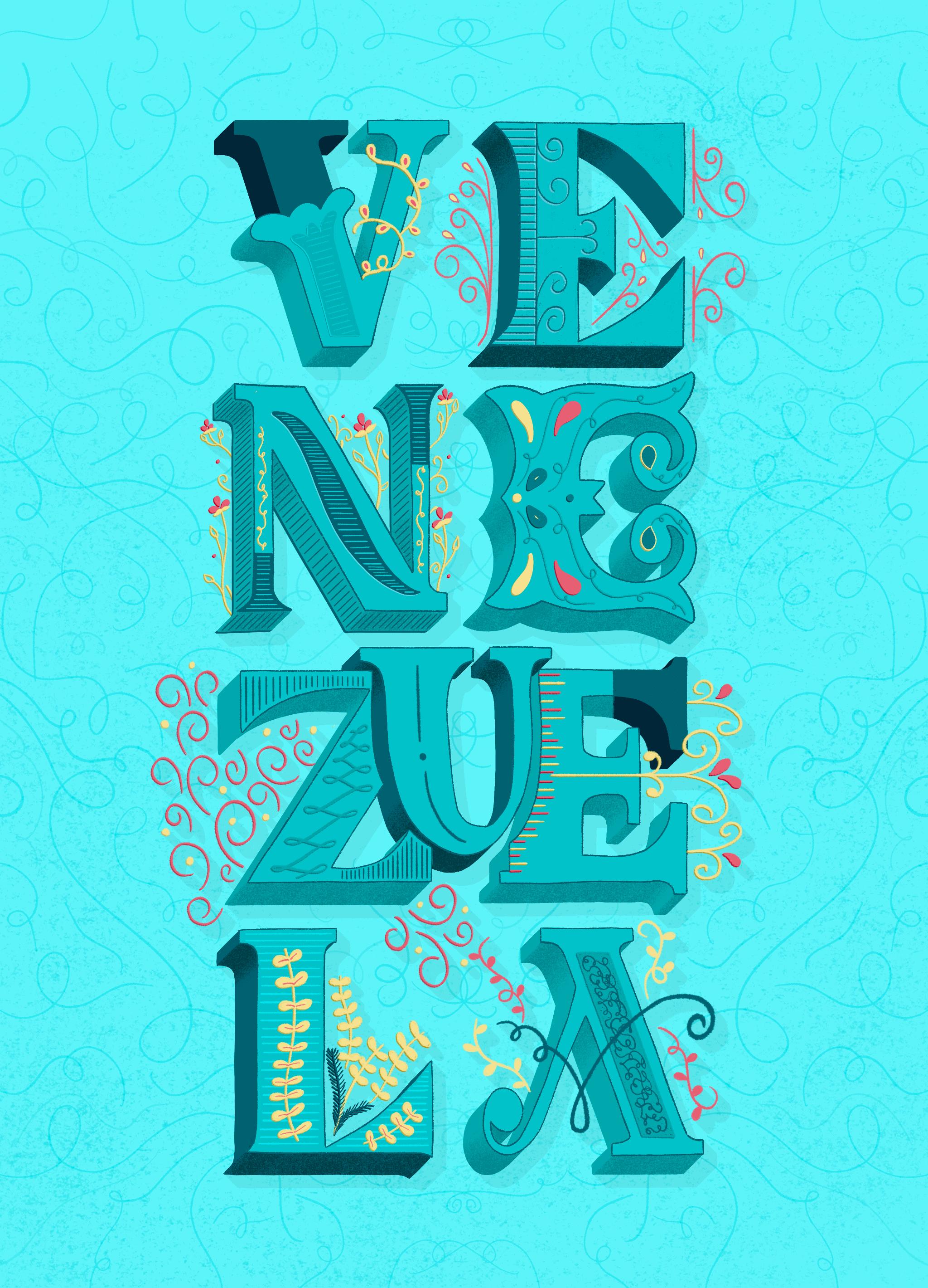 Venezuela-art-lettering-ibelis-garzon