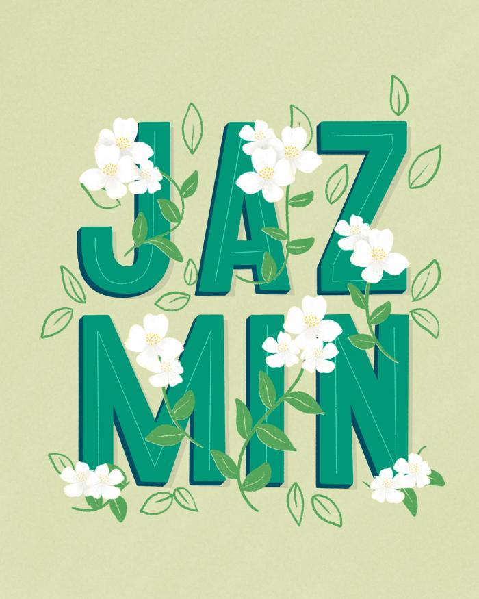 jazmin-postal-ibelina-pirulina-hand-lettering