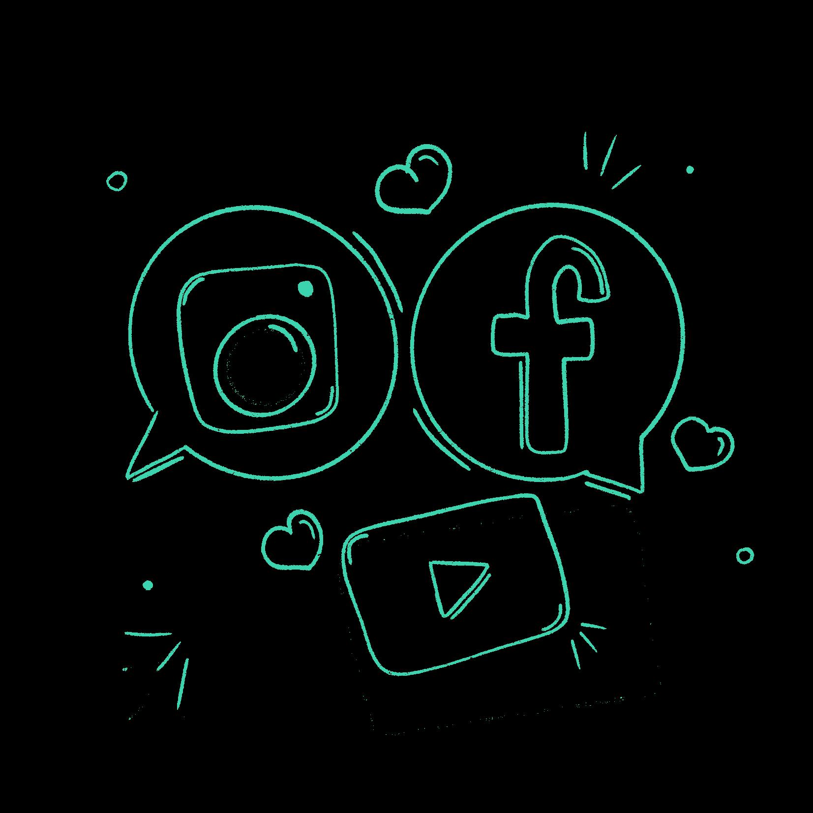 Social media rockers