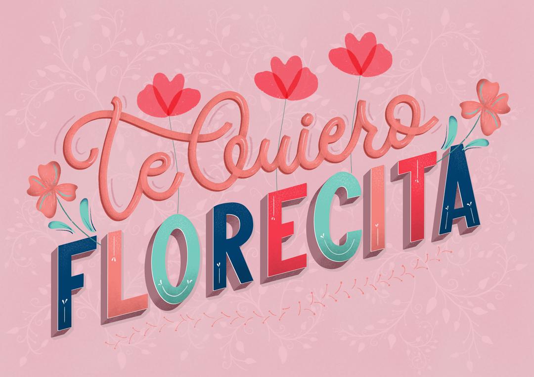 te-quiero-florecita-postal-ibelina-pirulina-hand-lettering